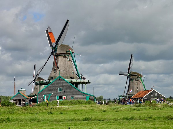 Windmills of North Holland