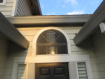 Above Front Door