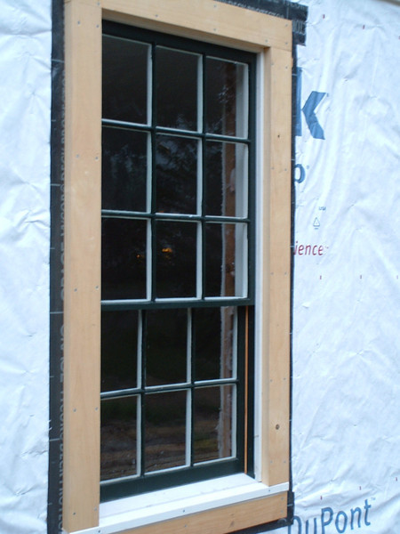 Late 1700's nine-over-six window AFTER full restoration.