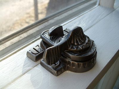 -Polishing and Reuse of Doublehung Window Wheels, Sash Locks, and other window hardware.