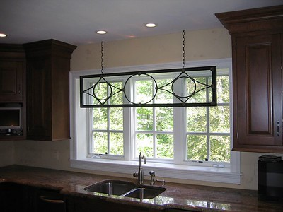 Decorative feature in Kitchen