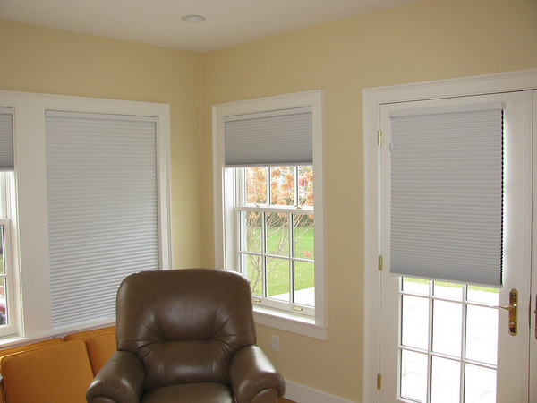 Duette Cordless blackout shades