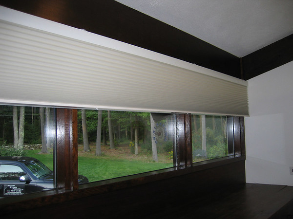 Duette Black-out shade with EasyRise lift system