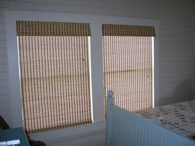 Woven Wood Shades with Privacy Liner