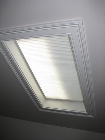 Simplicity Skylight Shade, lowered