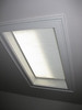 Simplicity Skylight Shade, lowered