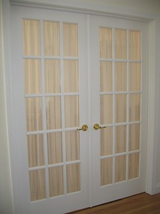 Sheers on French Doors