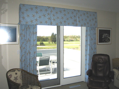 Draperies with matching Soft Valance