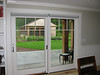 Solar Screen Roller Shades on Sliding Door