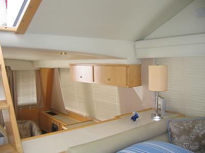 Drapery Panels & Blinds aboard Power Boat