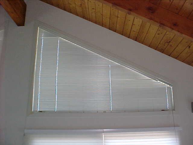 "Trapazoid 1"" Aluminum Mini blinds"