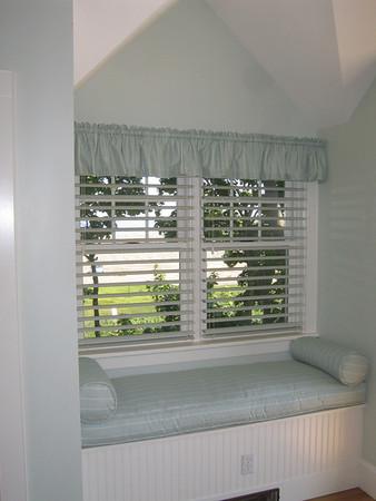 Window Seat & Bolster cushions