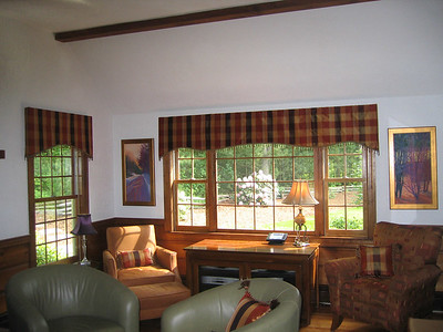 Soft Contoured Silk Valances
