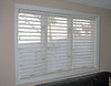 Silhouette window shadings in 3 unit Bay Window (tilted open)