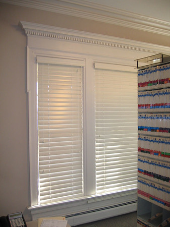 "2 1/2"" Wood Blinds (closed)"