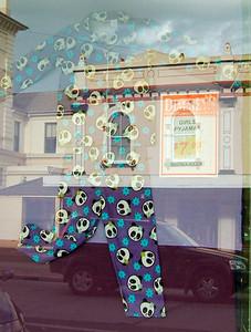 Panda pyjamas, Dimmey's Goulburn 2004 20 x 15.5cm