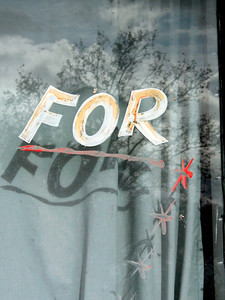 For You (closed cafe) Collector 2003 22 x 17cm