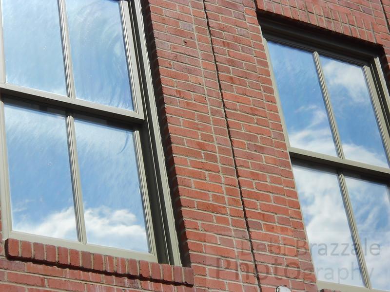 Window Cloud Reflection, Central City, Colorado