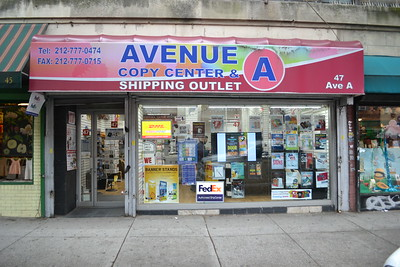 47 Avenue A Copy Center & Shipping Outlet