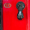 A Stunning Red Door  - Number 11 in Saffron Walden, England