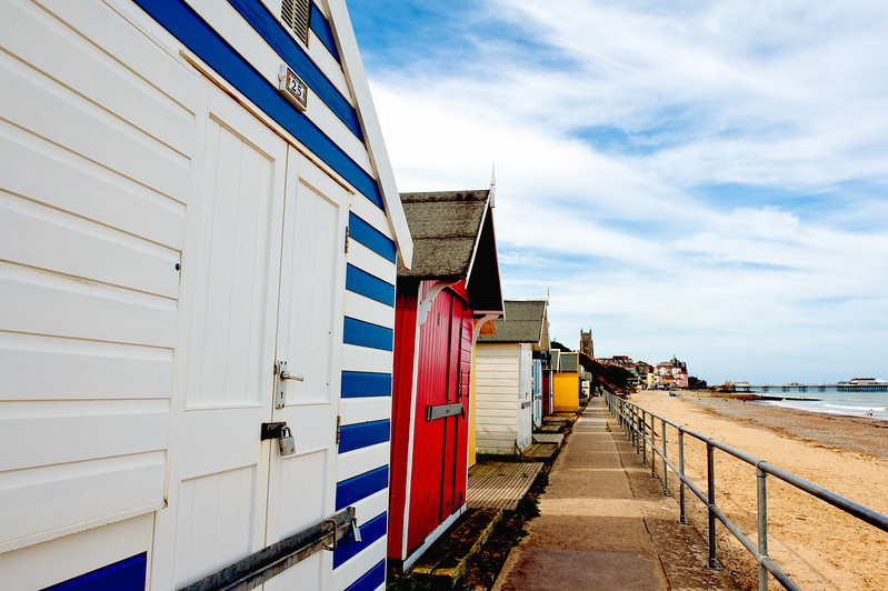 English Beach Hut Doors