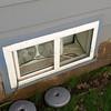 Basement egress window (before)