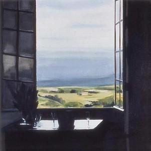 Burgundy Window 2