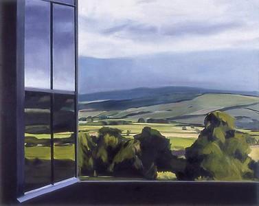 Burgundy Window