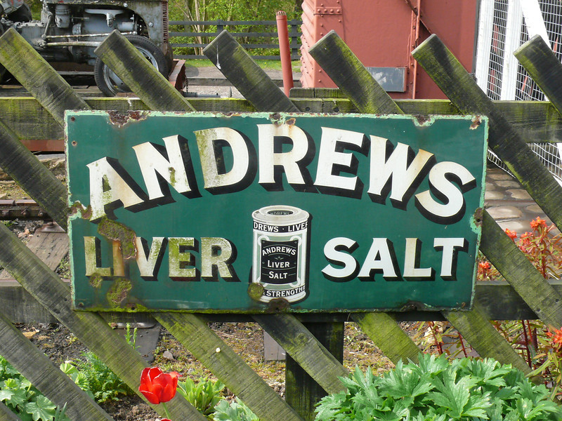Andrews Liver Salts - North Yorkshire Moors Railway, Goathland Station 110429