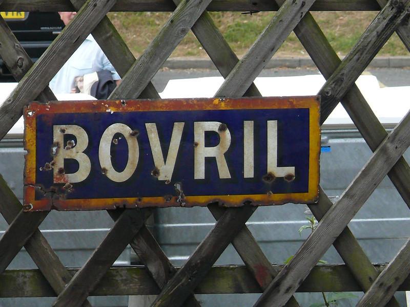 Bovril - North Norfolk Railway, Sheringham Station 110616