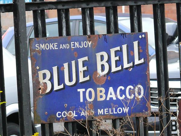 Blue Bell Tobacco - Severn Valley Railway, Kidderminster Station 110719