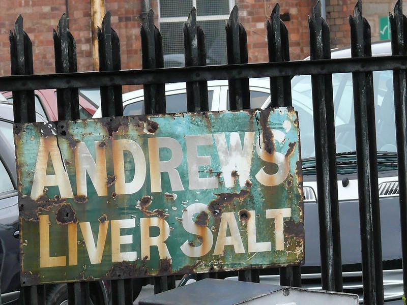 Andrews Liver Salts - Severn Valley Railway, Kidderminster Station 110719