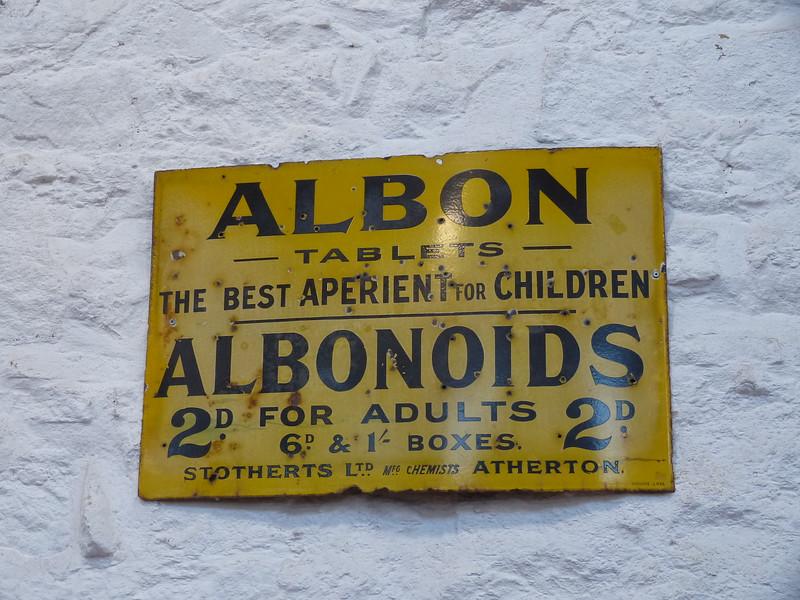 Albion Tablets - Bury Transport Museum,Bury 171125
