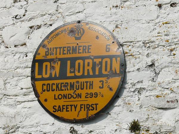 AA Round Sign - Low Lorton 110324