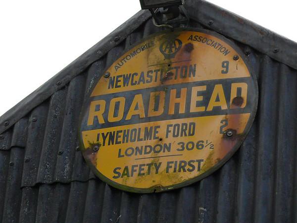 AA Round Sign - Roadhead 091011