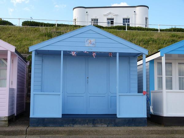 Beach Hut - 'Doris - the Goddess of Wind' 121016 Southwold