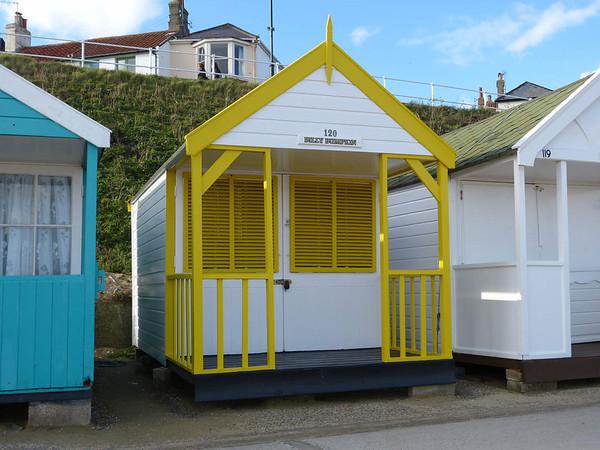 Beach Hut - 'Billy Bumpkin' 121016 Southwold