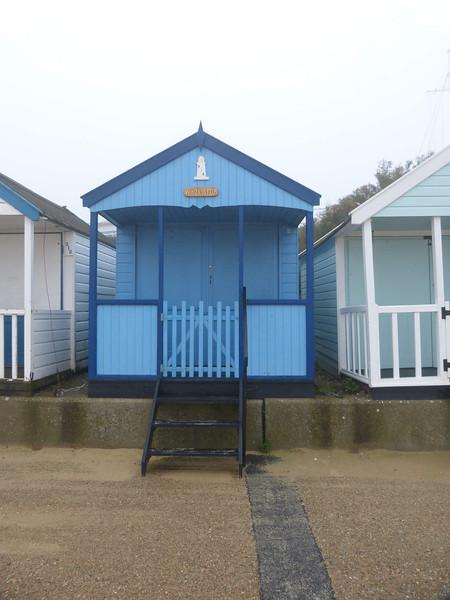 Beach Hut - 'Whoa Stop' 121022 Southwold
