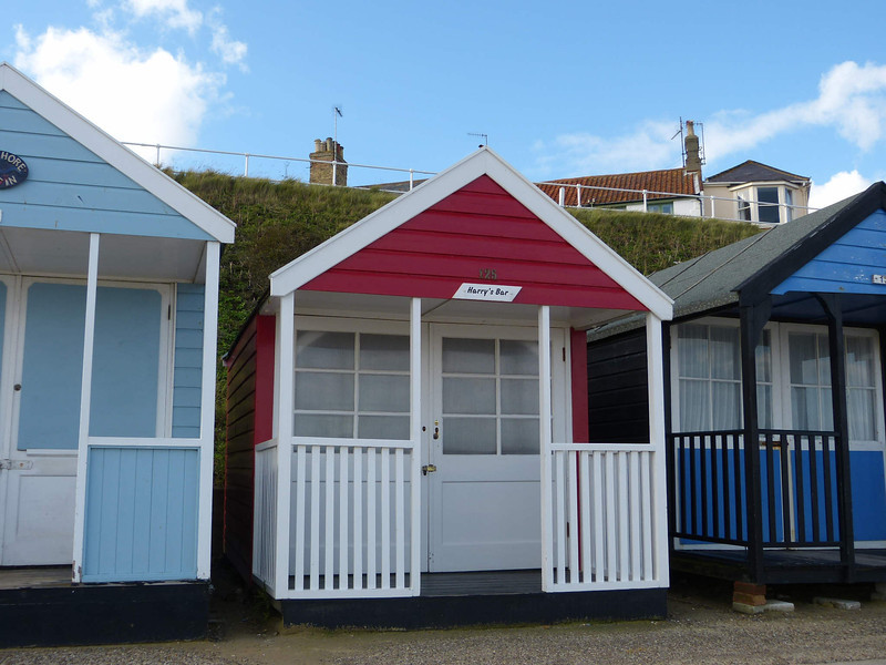Beach Hut - 'Harry's Bar' 121016 Southwold