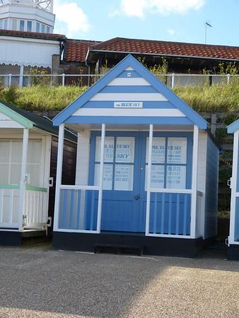 Beach Hut - 'Mr Blue Sky' 121016 Southwold