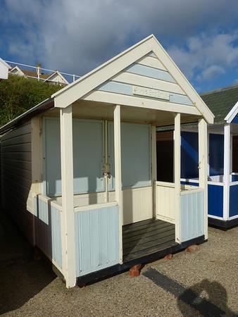 Beach Hut - 'Auntie Bong Bong's' 121016 Southwold
