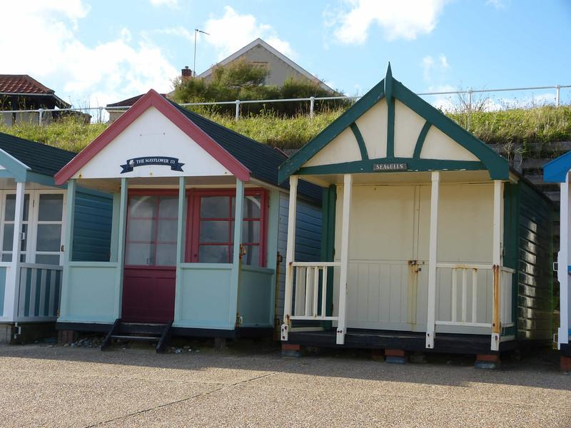 Beach Hut - 'The Mayflower' 'Seagulls' 121016 Southwold