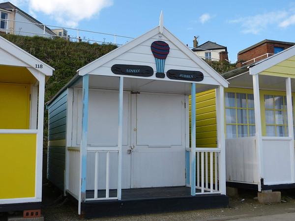 Beach Hut - 'Lovely Jubbly' 121016 Southwold