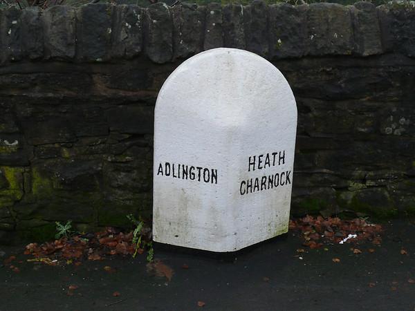 Boundary Stone - [A673] Adlington. Heath Charnock 110101 [LA_BOCY08pb]