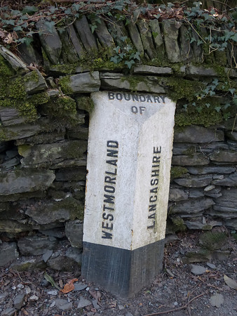 Boundary Stone - [A592] Bowness, nr Ghyll Head junct. 120330 [WE_WE04cb]