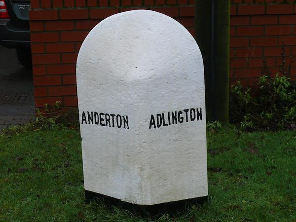 Boundary Stone - [A673] Adlington. Anderton 110101 [LA_BOCY08bpb]