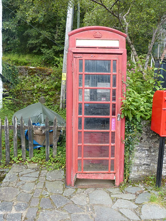 Telephone Box - Crinan Harbour 170801