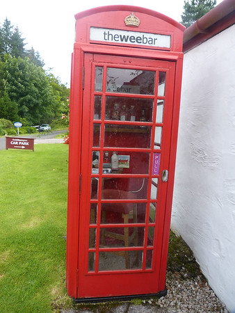 Telephone Box - Kilberry 170802