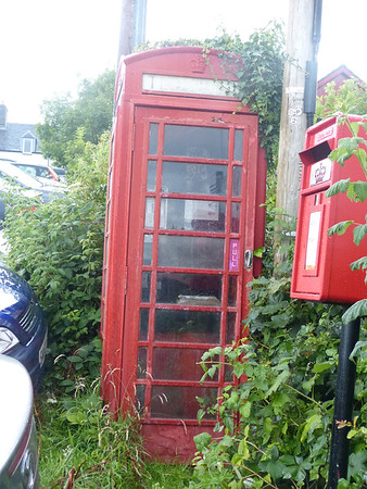 Telephone Box - Tayvallich PO 170801