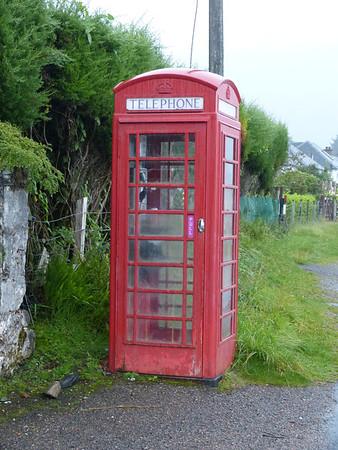 Telephone Box - Ardgour 120903